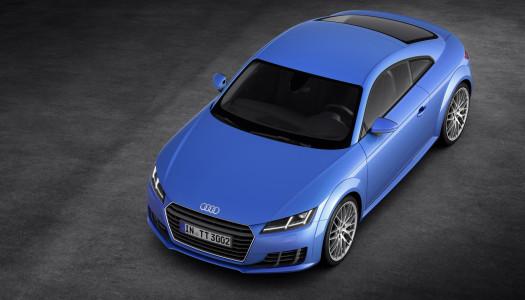 Nuova Audi TT 2015 immagini e prezzi della coupé in consegna ad Ottobre