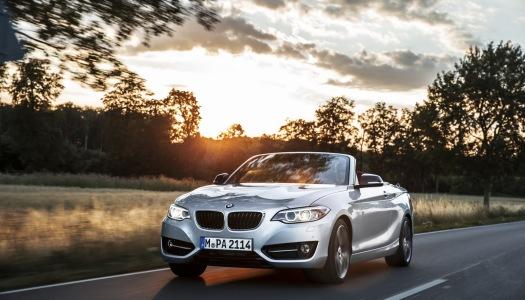 Nuova BMW Serie 2 cabrio 2015
