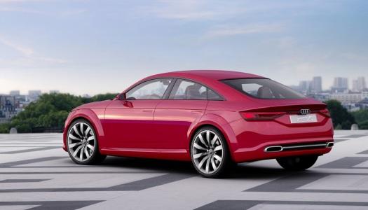 Nuova Audi TT Sportback Concept immagini ufficiali