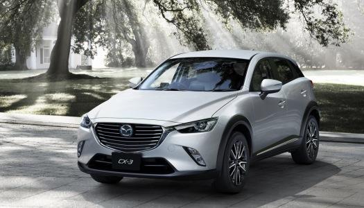 Mazda CX-3 2016, il nuovo crossover compatto