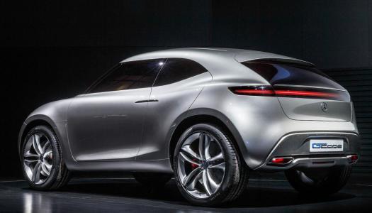 Mercedes G-Code Concept 2015 un nuovo crossover compatto