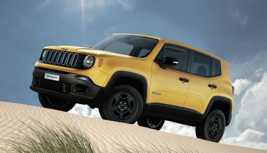 Jeep Renegade Sport con il nuovo 2.0 Multijet II 120 CV