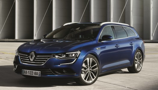 Nuova Renault Talisman Sporter station wagon in arrivo nel 2016