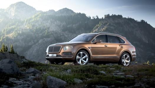 Bentayga, il primo SUV di Bentley