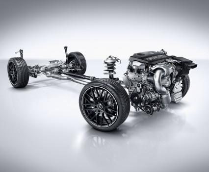 Mercedes-AMG A 45 4MATIC, serienmäßiger Allradantrieb AMG Performance 4MATIC,AMG Performance 4MATIC all-wheel drive as standard