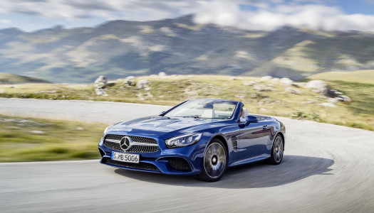 Nuova Mercedes SL 2016 restyling